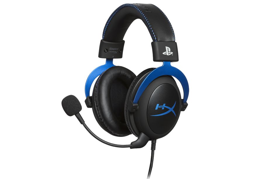 HyperX is releasing a PS4-themed version of its Cloud gaming headset