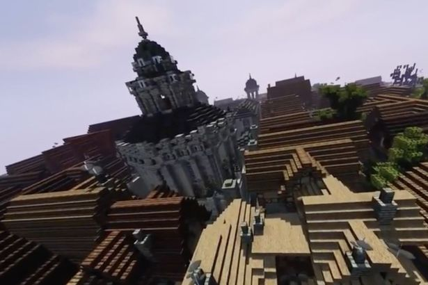 Game of Thrones addicts recreate fantasy world Westeros in Minecraft six years after first brick was laid