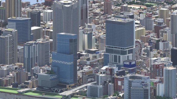 This Realistic City Made In Minecraft Has Us Astonished