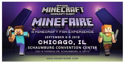 Minecraft Minefaire Takes Place In Schaumburg This Weekend