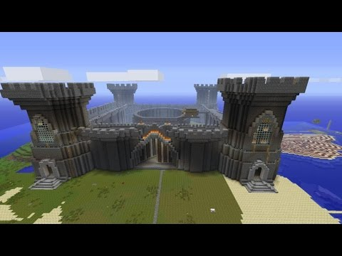 Fastest time to build a castle in Minecraft Creative mode