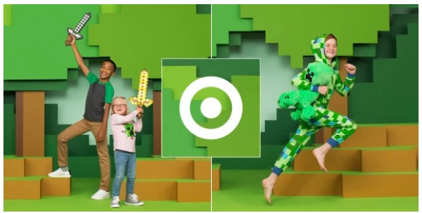 Minecraft Team partners with Target for new merch and in-store events
