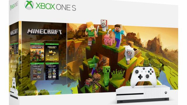Microsoft Xbox One S 1TB Minecraft Creators Bundle only $199 at Walmart & Amazon!