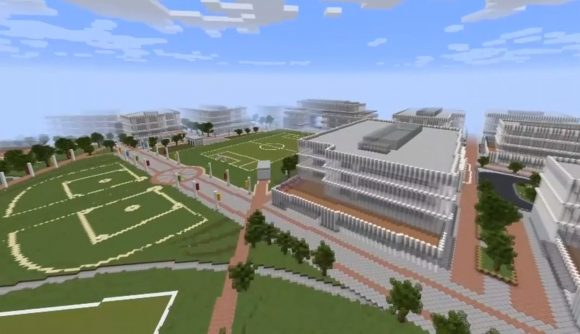 Microsoft is using Minecraft to help redesign its 500-acre campus