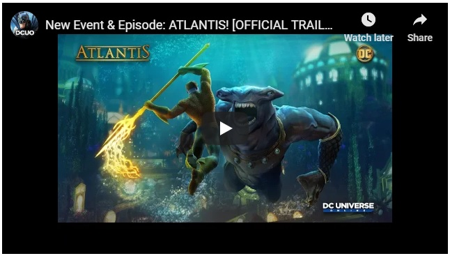 'DC Universe Online' Takes a Trip To Aquaman's Atlantis With New Expansion