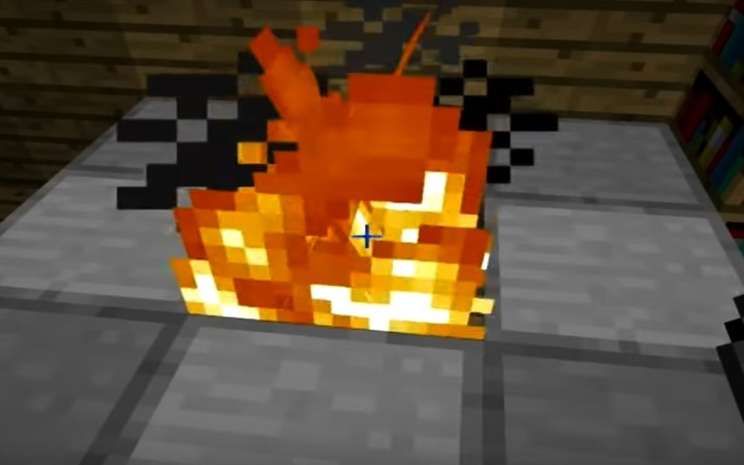 How to build a nice fireplace in Minecraft