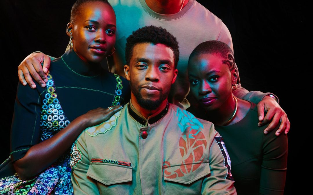 For the Stars of 'Black Panther,' Superpowers and Responsibility