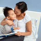 testing-for-learning-disabilities-mom-kissing-son