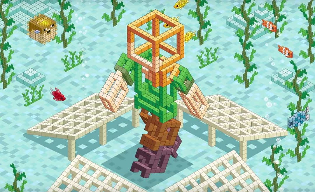 Minecraft Let Gamers Design Sculptures That Will Now Become Coral Reefs