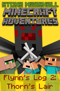 Minecraft - Flynn's Log 2 Book Cover