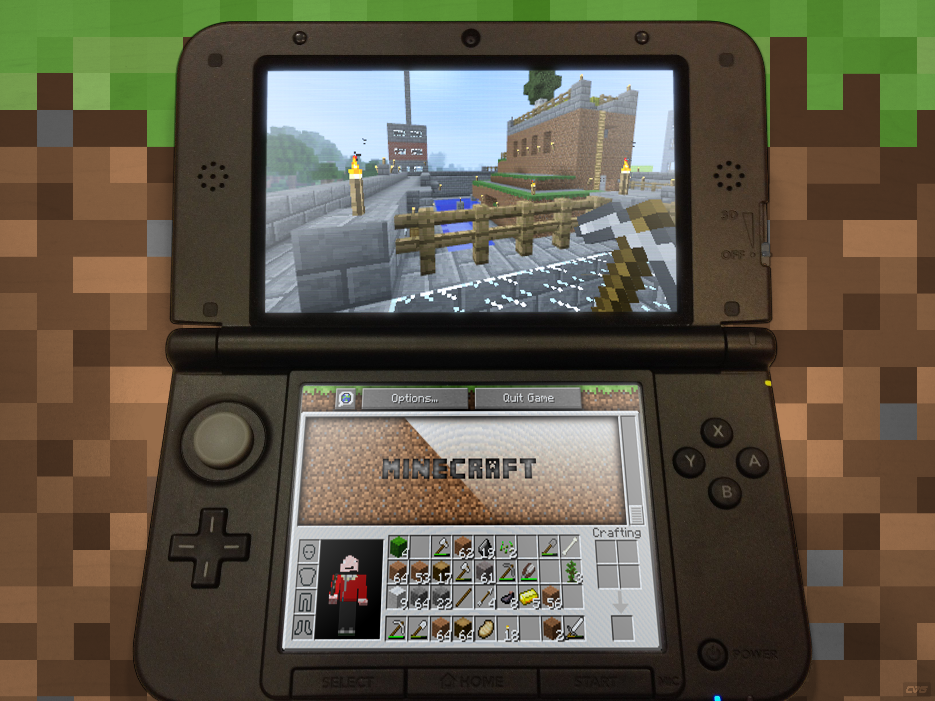 Minecraft Now Available On New Nintendo 3ds Stone Marshall Author