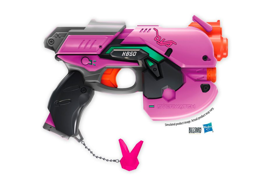Nerf is turning Overwatch guns into foam-shooting blasters