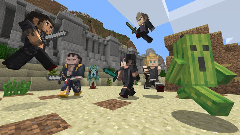 Minecraft to get new menus soon on all 'Bedrock' platforms