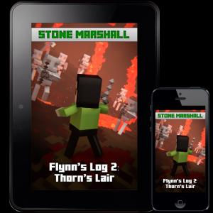 Minecraft Book Minecraft Adventures - Flynn's Log 2: Thorn's Lair