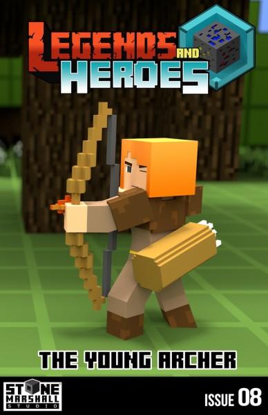 Legends and Heroes Issue 8-The Young Archer