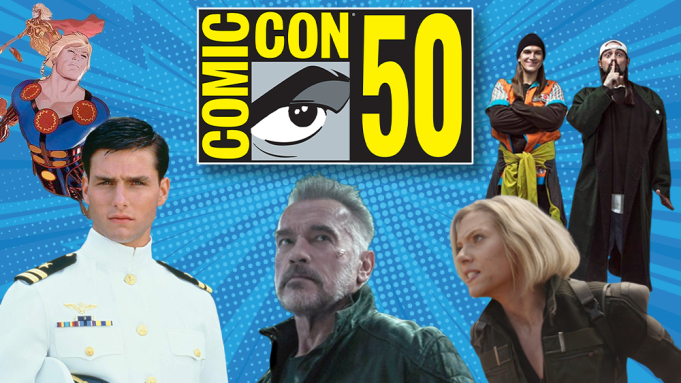 Comic-Con Best Of 2019 Film Schedule: Marvel Eyes Return, 'Terminator: Dark Fate', 'Top Gun: Maverick' Fly Into Hall H