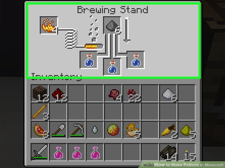 potion of weakness minecraft