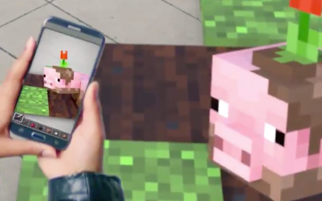 Microsoft just teased a futuristic new way to play 'Minecraft'