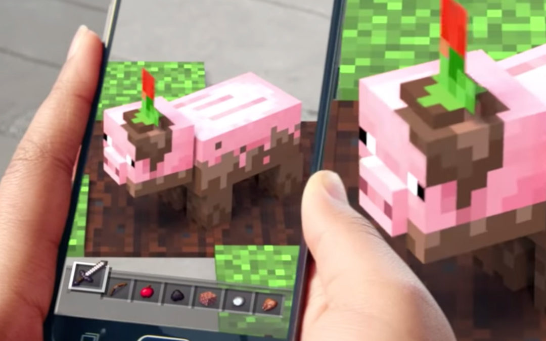 Microsoft teases 'Minecraft' AR for your phone