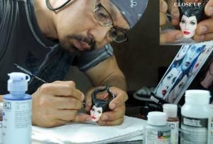 Noel-Cruzs-doll-repainting-art