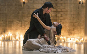 """PENNY DREADFUL Episode: """"Perpetual Night; The Blessed Dark Part 2"""" Season 3, Episode 9 Air Date: June 19, 2016 Josh Hartnett as Ethan and Eva Green as Vanessa Ives"""