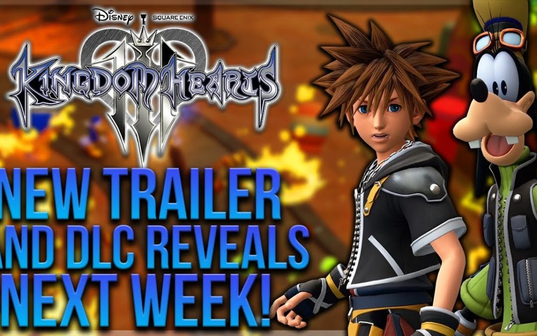 'Kingdom Hearts 3' Getting New Trailer, DLC Reveal During Amazon Cyber Monday