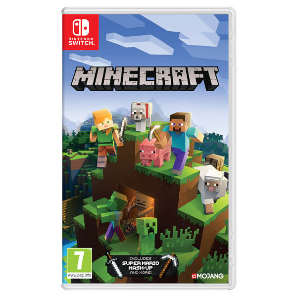 Nintendo UK Store: Minecraft Switch Comes Out 21st June And Available For Pre-order