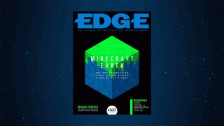 Minecraft Earth, the groundbreaking future of the biggest game in the world, stars in the new issue of Edge magazine