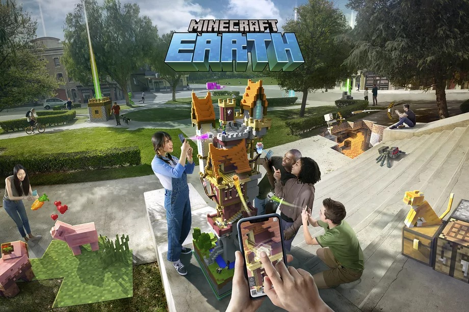 Minecraft Earth Android beta launches in five cities