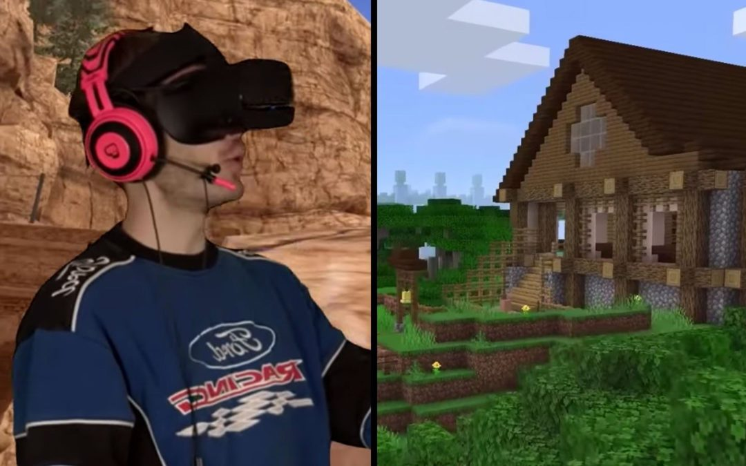 "PewDiePie trolls fans with 4K ""Minecraft"" VR video"
