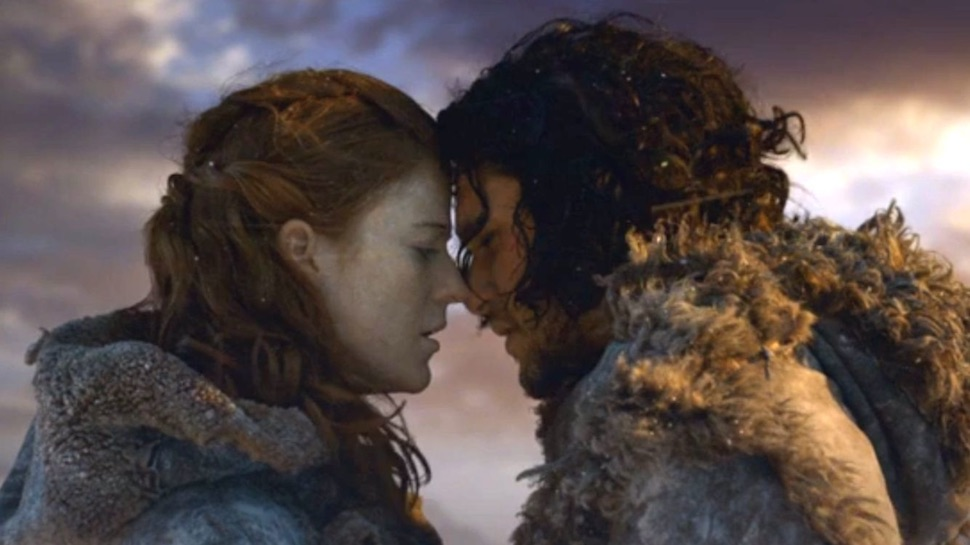 the game of thrones cast celebrated kit harington and rose